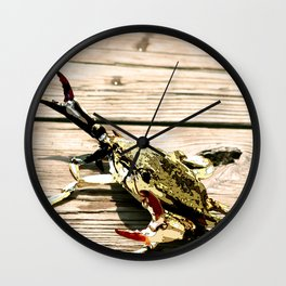 CrabWalk Wall Clock