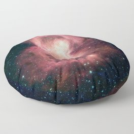 Space Butterfly Nebula Galaxy Floor Pillow