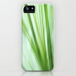Dancing Grasses iPhone Case