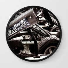 Pedal Cars Wall Clock