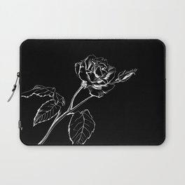 Black Rose Laptop Sleeve