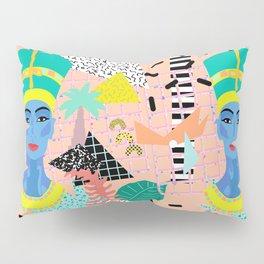 Postmodern Nefertiti Pillow Sham