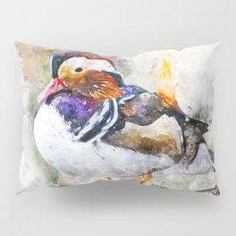 Mandarin Duck Pillow Sham