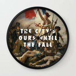 Eugène Delacroix, Liberty Leading the People (1830) / Halsey, New Americana (2015) Wall Clock