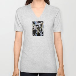 Edgy Moments to the Heart Unisex V-Neck
