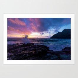 Makapu'u Beach, Hawaii Art Print