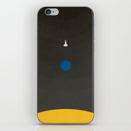 Don't Fear The Dark. Go Further. iPhone Skin