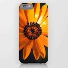 Vibrant Orange Flower Slim Case iPhone 6s