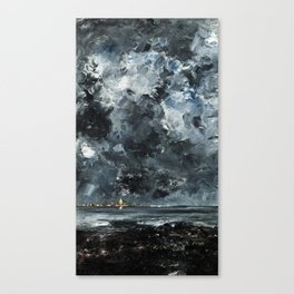 August Strindberg - The Town Canvas Print