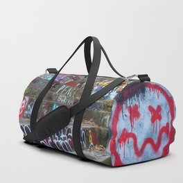 Graffiti in the wild Duffle Bag