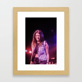 Tay Jardine - We Are The In Crowd (10/18/2016) Framed Art Print