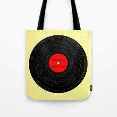 Born to Run Vinyl Tote Bag