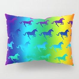 Psychedelic Unicorn Pattern Pillow Sham