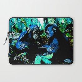 Chimp & Gorilla Cooperation 01-03 Laptop Sleeve