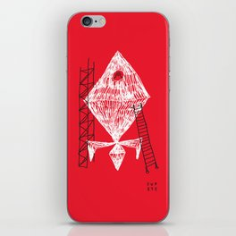 A Machine Designed To Fly In Outer Space iPhone Skin