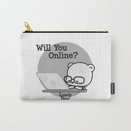 Will You Online? Carry-All Pouch