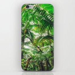 Tropical Canopy iPhone Skin
