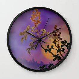 Nandina The Beautiful Wall Clock