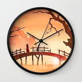 Samurai Scene, Bushido Ronin Wall Clock