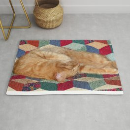 Cat Napping Rug