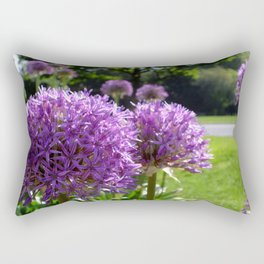 Purple Allium Giganteum Rectangular Pillow