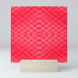 shimmering reds Mini Art Print