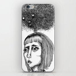 Nightmares that haunt - coracrow iPhone Skin