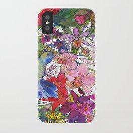 Hummingbirds iPhone Case