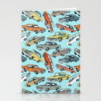 muscle Stationery Cards featuring Muscle Cars by Mario Zucca
