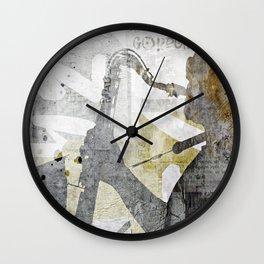 JAZZ ART Wall Clock