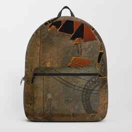 Anubis the egyptian god, pyramid Backpack