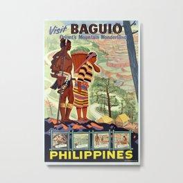 Vintage poster - Philippines Metal Print