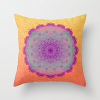 moonrise Throw Pillows featuring Moonrise by Peta Herbert