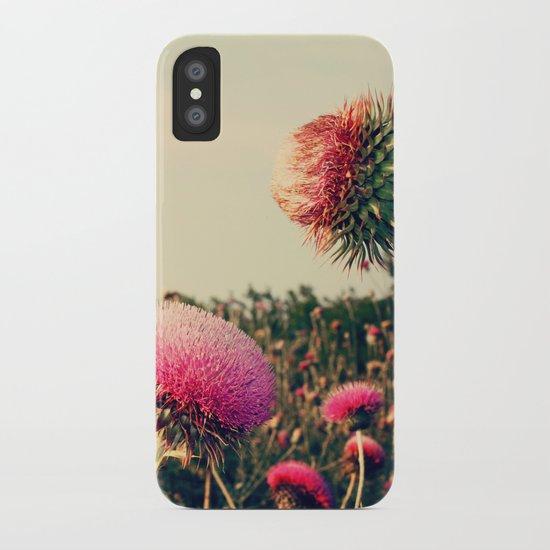 Flower World! iPhone Case