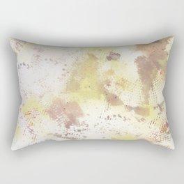 Mixed Media Abstract #2 Rectangular Pillow