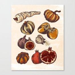 Fall Produce Canvas Print