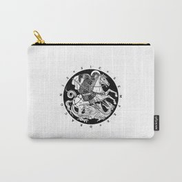 SIC SEMPER DRACONIS - B&W Carry-All Pouch
