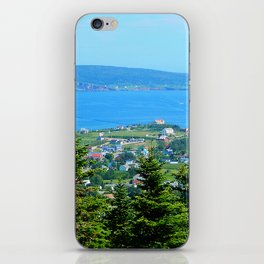 Bonaventure Island panoramic iPhone Skin