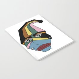 Woman in Hat Notebook