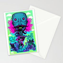 M E G A - F A C E - E A T E R Stationery Cards