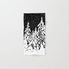 Winter forest Hand & Bath Towel