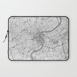 Shanghai Map Line Laptop Sleeve