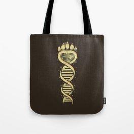 Bear DNA Tote Bag