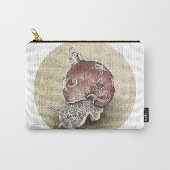 In which a snail is most festive this christmas  Carry-All Pouch