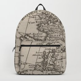 Vintage Map of Europe (1701) Backpack