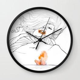 Flame Wall Clock