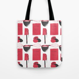Inky Kitchen Tote Bag