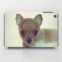 puppy iPad Cases featuring PUPPY by Monika Strigel