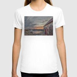 Lanes cove Sunset 5-5-18 T-shirt