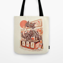 Kaiju street food Tote Bag